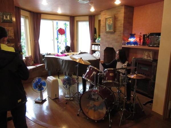 台湾高校生来館!朝からジャズの生演奏