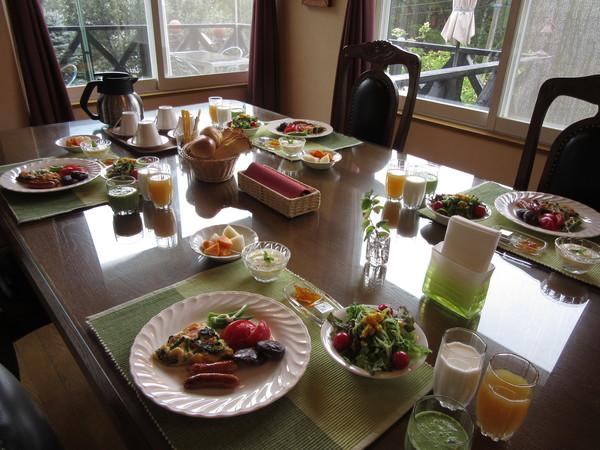 ゆったりスペースだから・・・朝食もゆっくり楽しんで!