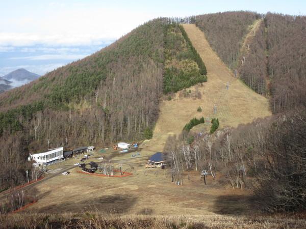 22日(土)Openを目指し整備が進む峰の原高原スキー場