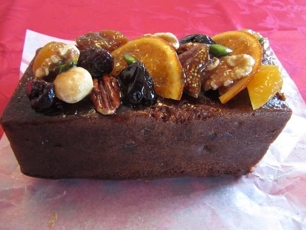 イタリアのクリスマスケーキ(美味!)