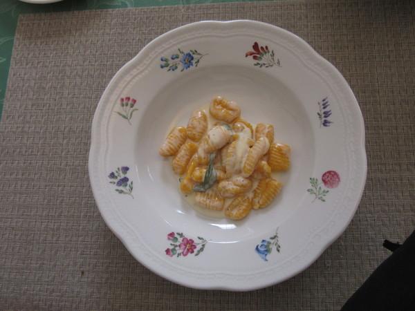 Gnocchi di zucca(南瓜のニョッキ)