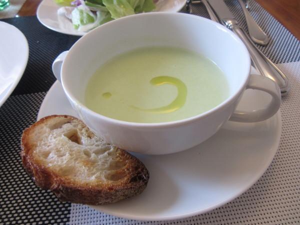そら豆のスープ(惠美子クッキングスタジオ再開)
